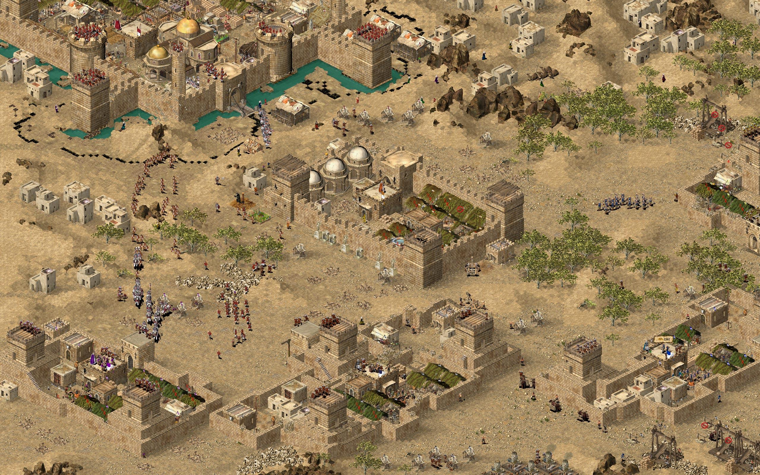 بازی های اندروید آسان دانلود بازی زیبای استراتژیک جنگ های صلیبی